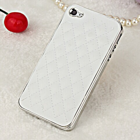 New Luxury Leather design case for iphone 4 4s #8135
