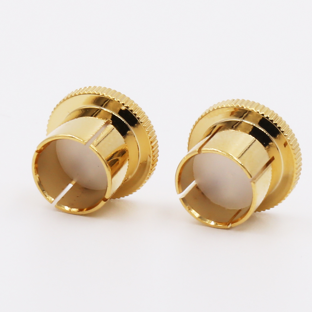 12 Pcs 8 Pcs Noise Stopper 24k Gold Plated Copper Rca Plug Caps Rhodium Plated Copper Rca Plug Caps High Quality Computer Cables & Connectors