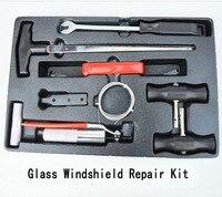 Glass Windshield Repair Kit Interior Strip Removal Device Wire Saw Glue Scraper Rubber Buckle Driver