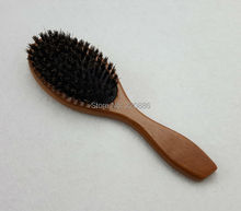 Boar Bristle Mix Nylon Hair Brush Wooden Hair Brushes Paddle Hair Brush Hair Extension Brush GIC-HB533 (1 piece) Free Shipping