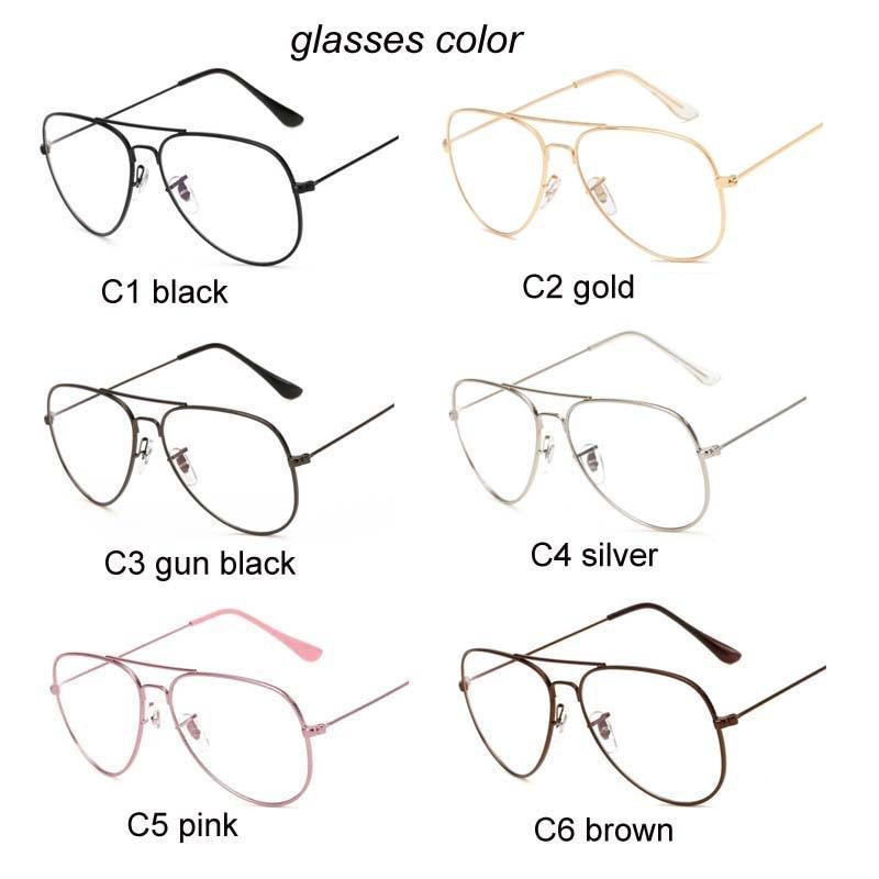 2019 Fashion Clear Glasses Women Optical Frames Myopia Lunette Female - Kläder tillbehör - Foto 5