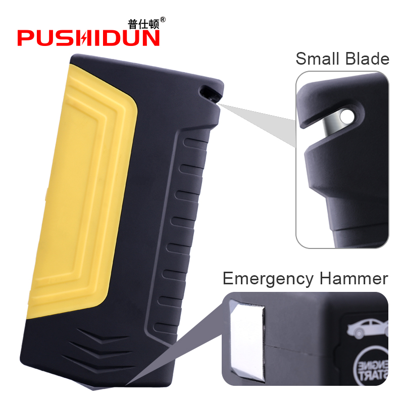 Car Jump Starter 600A Portable Starting Device 12000mAh Power Bank 12V Car Charger For Car Battery Diesel Petrol Booster Buster portable starting device 68800mah car jump starter 4usb power bank 600a pack car battery charger for petrol diesel car starter