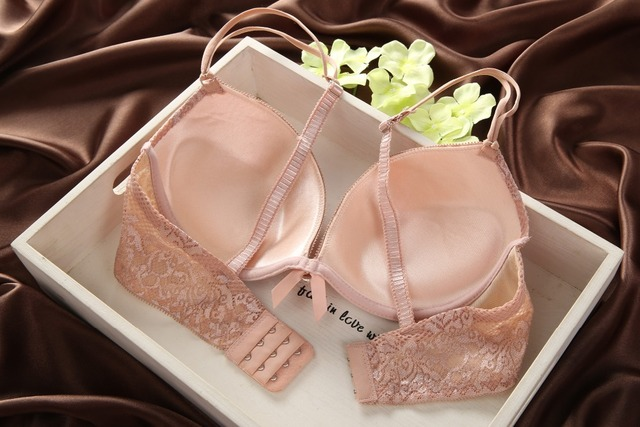Details about New Womens Sexy Underwear Satin Print Lace Embroidery Bra Sets Panties BC Cup 3