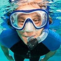 7e22081de Professional Snorkeling Diving Set Kit Gear Equipment Silicone Fog Proof  Mask Full Dry Breath Tube Swimming