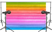 Exquisite Colorful Cross board Wooden Background children Photo Studio Backdrop 150x220cm Photography Backdrops Wall