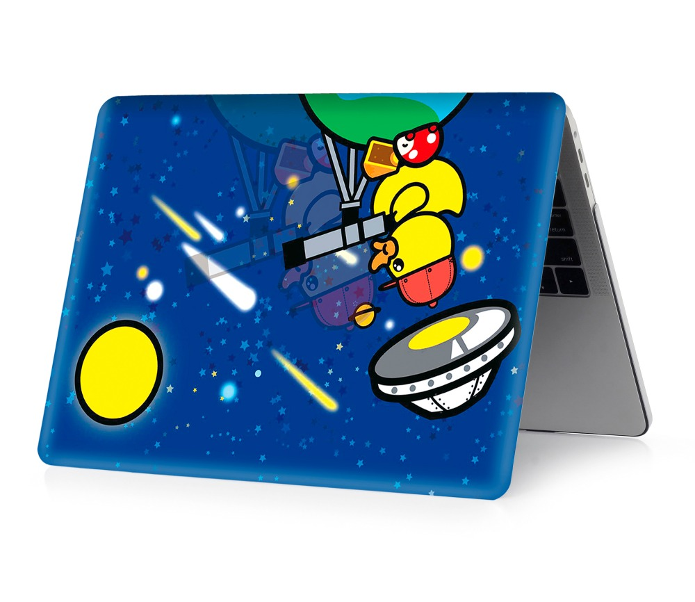 Image 4 - color printing duck  notebook case for Macbook Air 11 13 Pro Retina 12 13 15 inch Colors With Touch Bar New Pro 13 15  Air 13-in Laptop Bags & Cases from Computer & Office