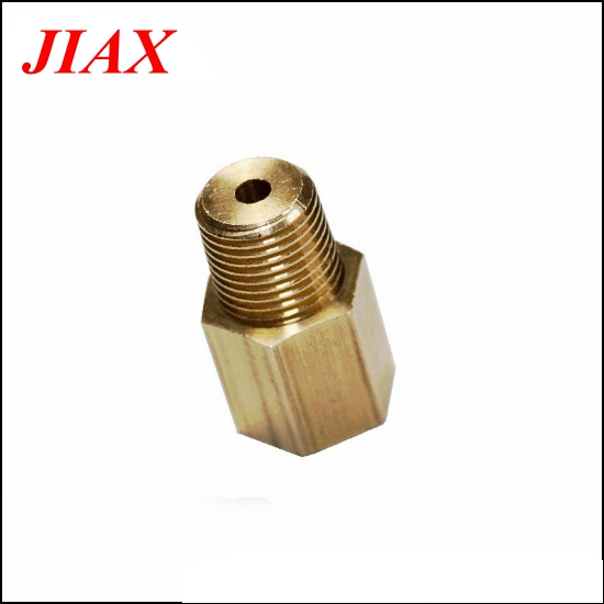 2pcs 1/8 NPT Female To 1/8 BSPT Male Adapter Gauge Sensor Thread Adapter Reducer Oil Pressure Gauges Adapter