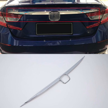 Car body kits ABS rear moulding trims Sticker For HONDA ACCORD 2018