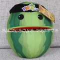 "FRUIT NINJA PLUSH STUFFED TOY 10 ""MELANCIA BONECA MACIA FIGURA"
