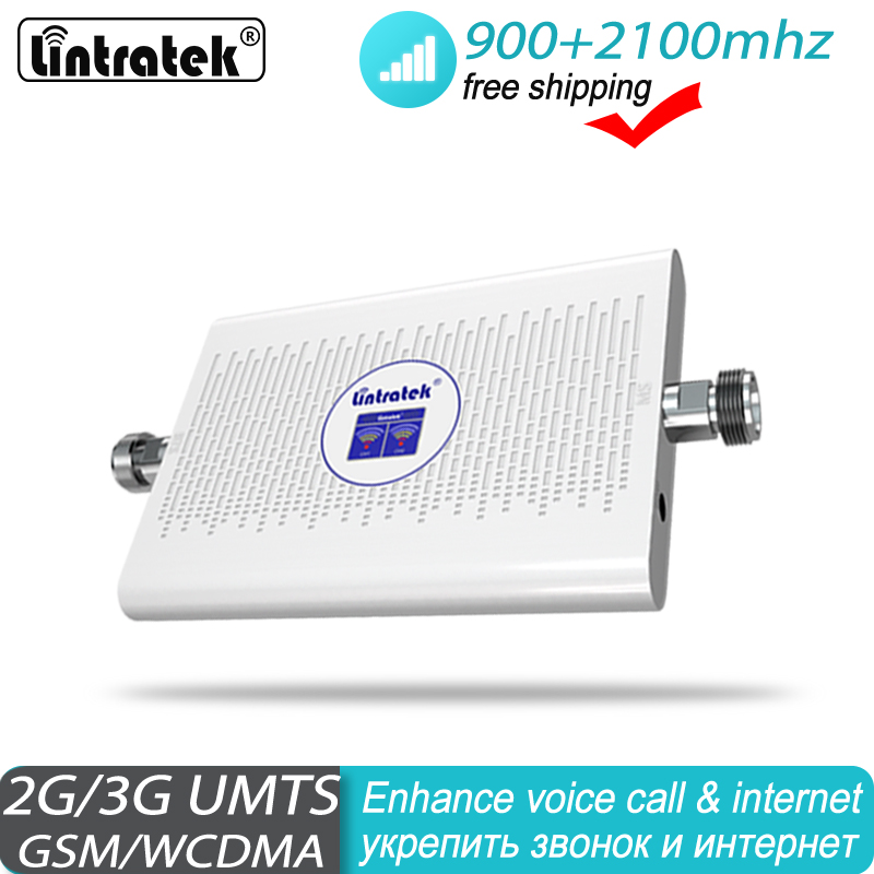 Signal Booster GSM 900 2100 Mhz 2G 3G Repeater UMTS Cell Amplifier Dual Band GSM GSM 3G WCDMA 2100 Cellular Hot Sale Mobile #40