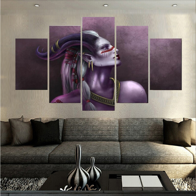 Canvas Printings Art Dragon Age Inquisition Painting Wall Home Decoration Poster Unframed Free Shipping