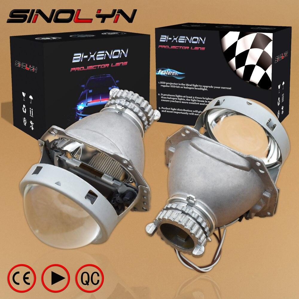 SINOLYN 3,0 HID би ксенон объектив проектора фар модернизации линзы H4 супер яркий, Применение D2S D2H лампы Новый Одежда высшего качества автомобиль-...