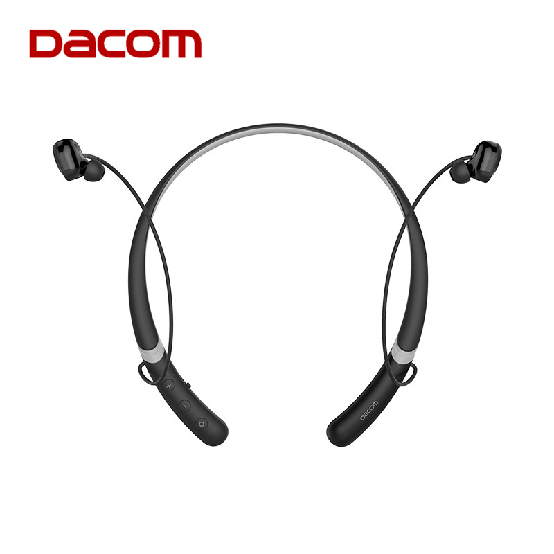Dacom L02 Neckband IPX5 Waterproof Wireless Stereo Bluetooth Earphone Headphone Sports Headset with mic for phone iPhone xiaomi original dacom g18 sports bluetooth headset stereo auriculares wireless headphone running ear hook waterproof earphone with mic