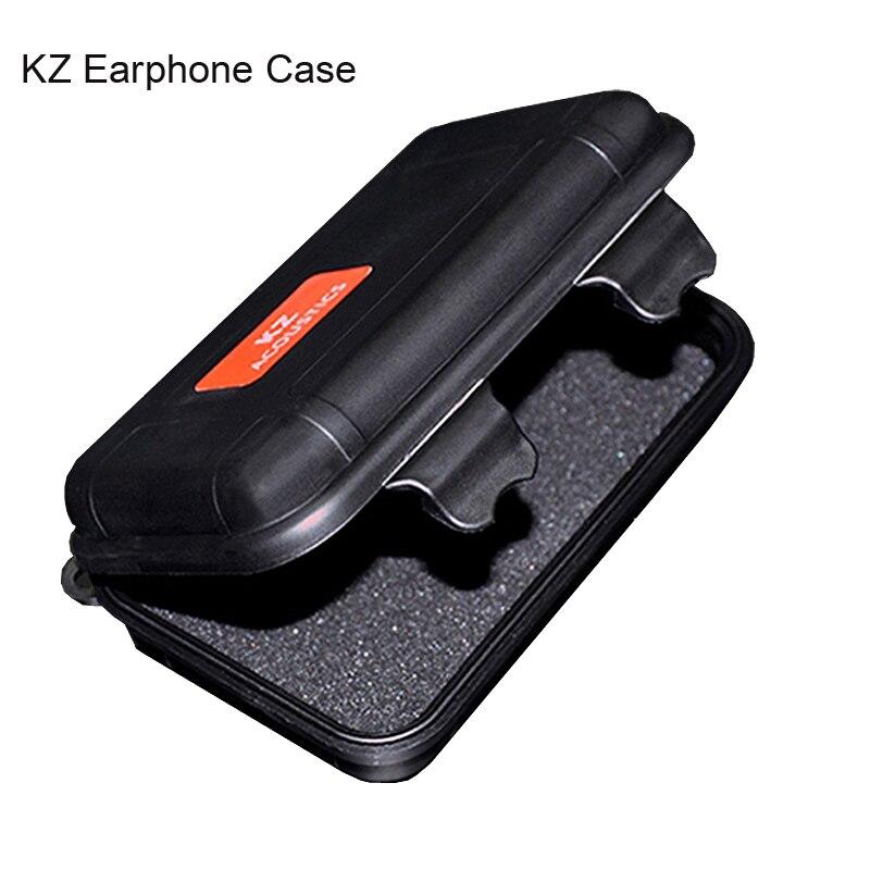 KZ earphones storage box High end Compressive sponge damping Portable PP Storage Box Headphones Accessories For KZ ED10 ED12 ED9