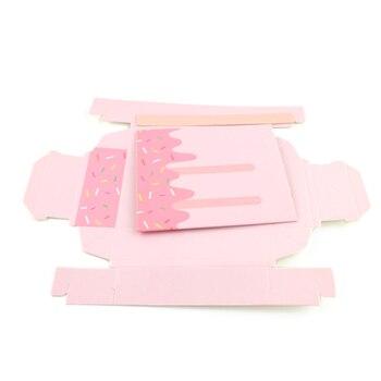 Des Faveurs Pour Un Baby Shower | 100 Pièces Mini Glace Forme Boîtes à Bonbons Mignon Bébé Douche Faveurs Cadeaux Sacs Fête D'anniversaire Décoration