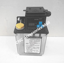 1.2L 220V AC Electric Auto Lubrication Pump Single screen Automatic Oil Pump for CNC Engraving Router machine недорго, оригинальная цена