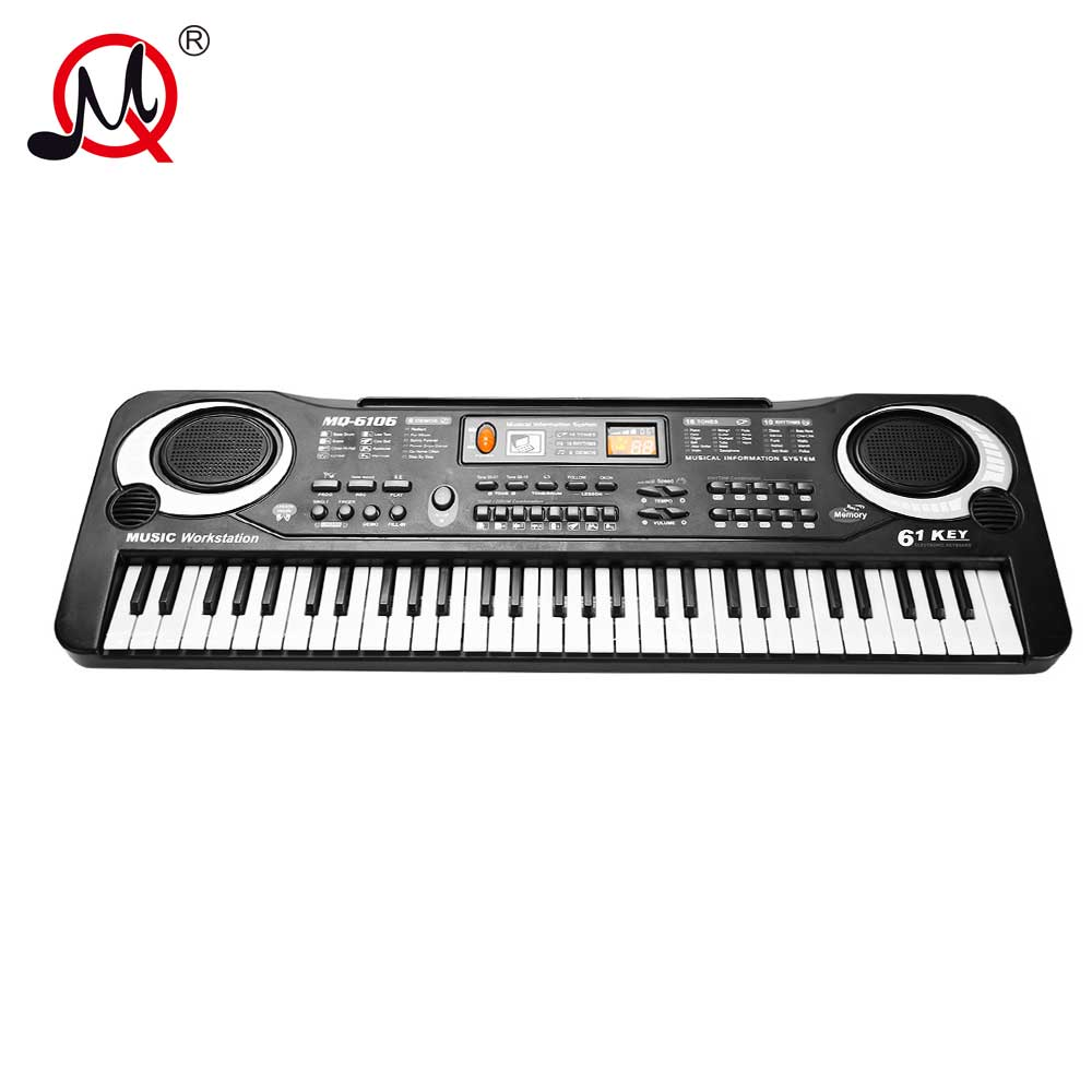 61 Keys Kids Musical Instrument Electronic Keyboard Toy Digital Piano Electric Multifunction Key Board Music Toys For Children