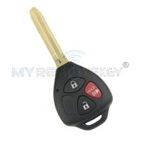 Coche Clave Remoto de 3 Botones para Toyota Camry 315 MHZ 2008 2009 2010 2011 2012 2013 Chip de 4D67 GQ4-29T Remtekey Llave Del Coche A Distancia