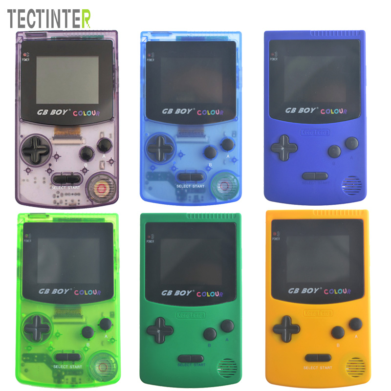 2.7 GB Boy Classic Color Handheld Game Console Game Player with Built-in 66 Games Juegos Mando sanwa button and joystick use in video game console with multi games 520 in 1