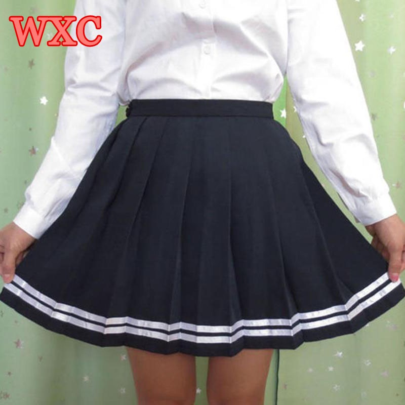Anime school uniforms