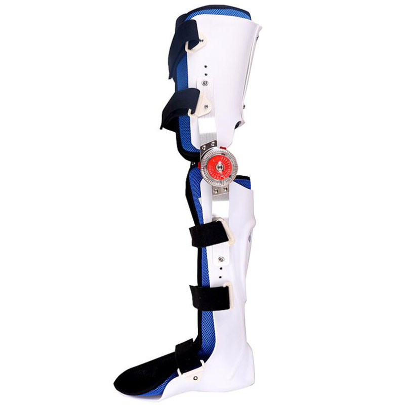 HANRIVER Hemiplegia knee ankle foot orthoses leg knee joint with a leg ankle orthotics fixed stent fracture surgery joints with a fixed belt dislocated fracture gesso splint ankle support