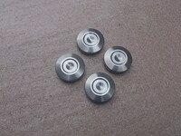 4 pcs / set 304 stainless steel diameter 29mm high 8mm speaker feet nail pad sound machine feet shock absorbers nail