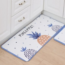 New Welcome Floor Mats Cute Pineapple Cats Printed Bathroom Kitchen Carpet House Doormats for Living Room Anti-Slip Rug LYN05