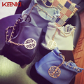 KEENICI2016 Vintage PU Leather Shoulder Bag Cross Bag Ladies Handbag Small Clutch Purse Messenger Bags Shoulder Chain Bucket Bag