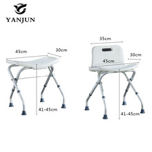 YANJUN Folding  Bath and Shower Seat Shower Bench Bathroom Safety Shower Chair Tub Bench height adjustable Chair   YJ-2052B