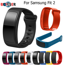 L/S Replacement Wristband For Samsung Gear Fit 2 Band Luxury Silicone Watchband For Samsung Fit2 SM-R360 Watch Strap Drop Ship fashion watch band luxury replacement silicone watchbands for samsung gear fit 2 fit2 sm r360 bracelet wristband strap hot sale