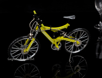 Shockproof mountain bike model upscale simulation car DIY toys craft gifts desktop ornaments fashion collection children's toys