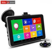 7 дюймов HD Автомобильный GPS Навигации Android Навигатор заднего вида Tablet pc Bluetooth/AVIN/WI-FI/Навител или европа карта спутниковой навигации gps