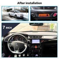 Android 8.0 Car DVD Player GPS Glonass Navigation for Citroen C3 DS3 2010 2016 Auto Radio Audio 7inch Stereo Multimedia BIACK