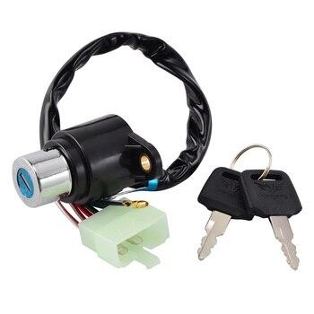 NICECNC Мотоциклетная система зажигания переключатель с ключом для Honda CB400 CM400 CM450 CB450T CA125 CB250 CMX250