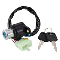 NICECNC Motorcycle Ignition Switch With Key For Honda CB400 CM400 CM450 CB450T CA125 CB250 CMX250