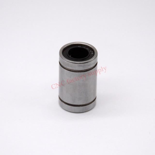 Бесплатная доставка LM8UU линейный 8 мм ЧПУ Линейный Подшипники 10 шт./лот