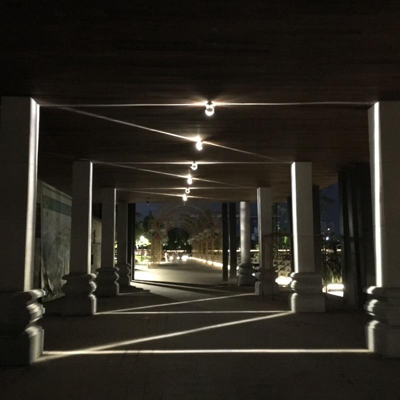 exterior impermeavel 8w conduziu a lampada de 04