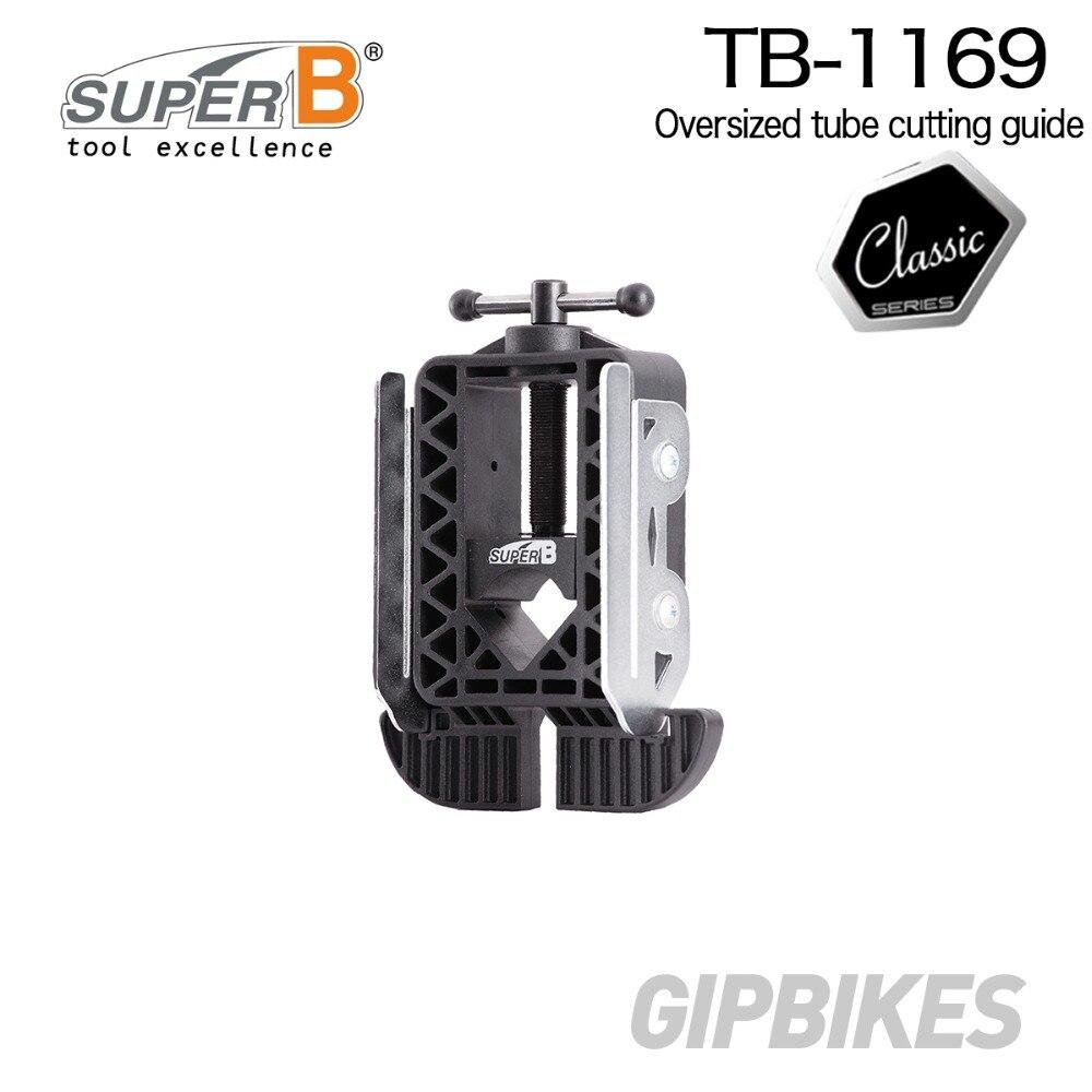 Support surdimensionné Super B TB-1169 pour la coupe de tubes outils de réparation de vélo de magasin de vélo professionnel