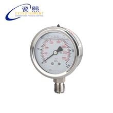 Дизельный Манометр с 0~ 60 МПа тестовым диапазоном и диаметром 60 мм Датчик круглый антивибрационное давление топлива Guage