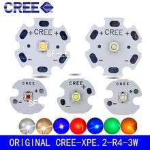 5 шт./10 шт. Cree XLamp XPE2 XP-E2 R3 холодный белый теплый белый нейтральный белый красный зеленый синий 1 Вт~ 3 Вт 3000 К светодиодный светильник-диод с печатной платой
