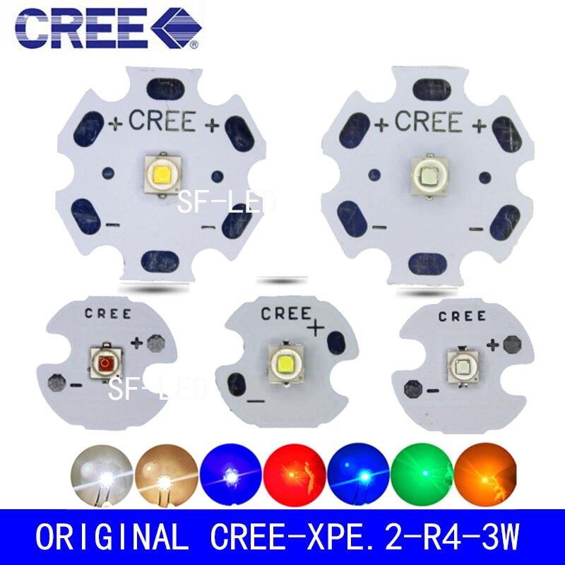 5 шт./10 шт. Cree XLamp XPE2 XP E2 R3 холодный белый теплый белый нейтральный белый красный зеленый синий 1 Вт ~ 3 Вт 3000 К светодиодная Диодная лампа с печатной платой|Светодиодные лампы и трубки|   | АлиЭкспресс
