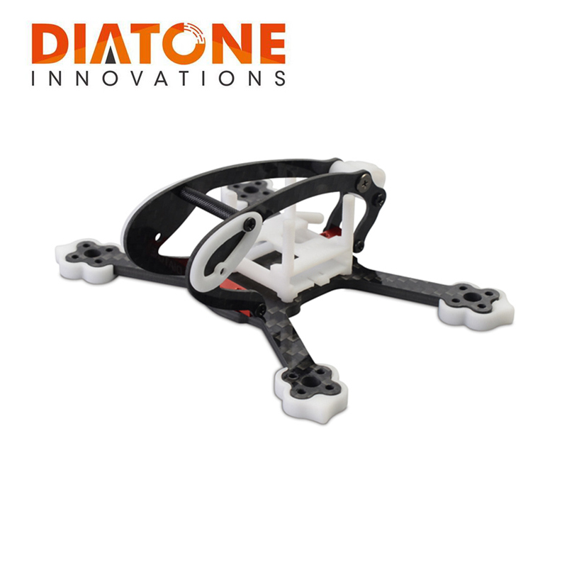 Diatone 2018 GT-R90 Carbon Fiber FPV Racing Drone Frame Kit 3mm Arm w/ for RC Drone Flight Controller ESC VTX Mount VS GEPRC