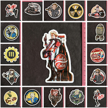 Fallout Hot Sale PVC Big Sticker Home Decor Fridge Styling Wall Travel Suitcase Graffiti Stickers Buy 3 get 4