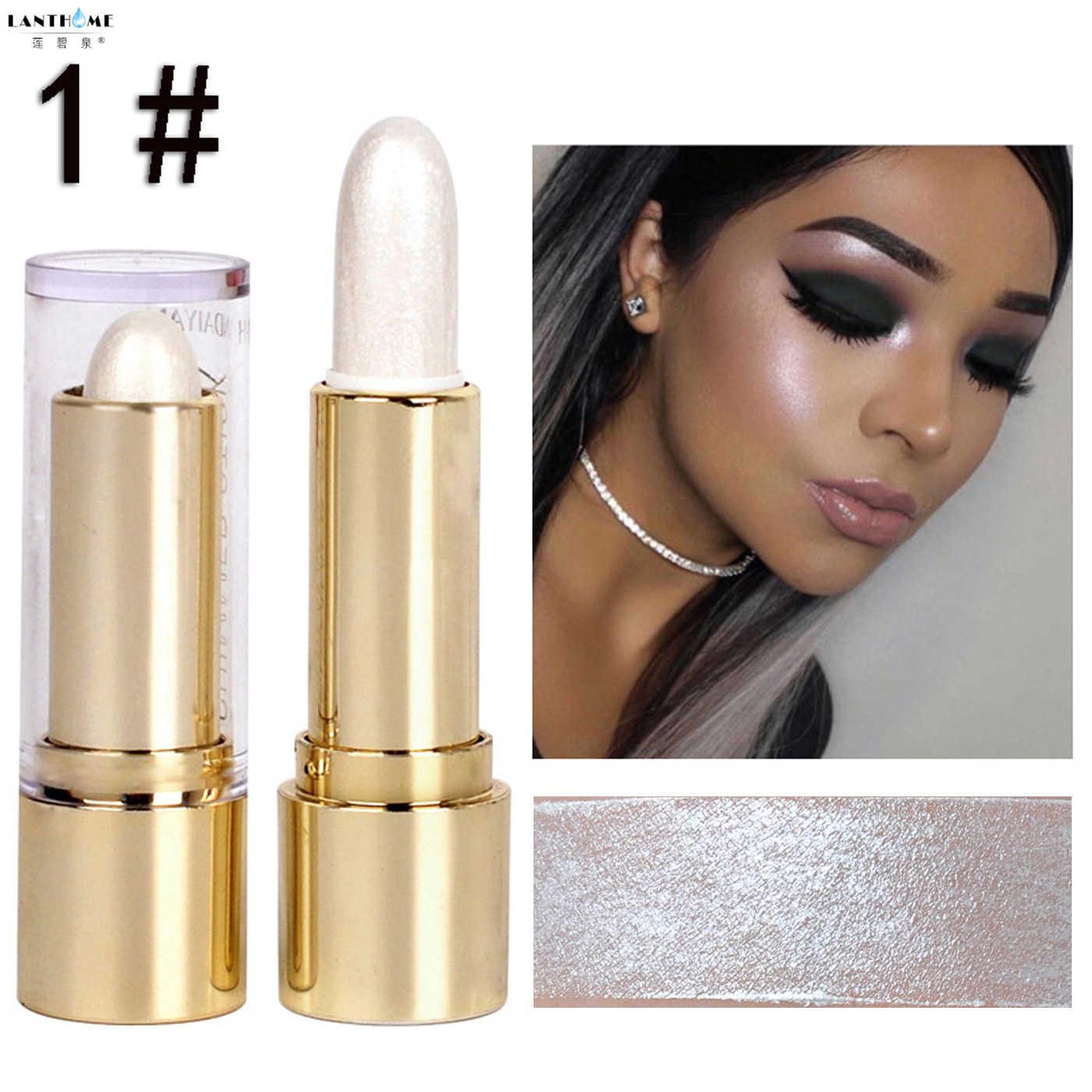 Makeup Stabilo Stick Shimmer Bubuk Krim Wanita Make-Up Kosmetik Fashion Menerangi Cahaya Wajah Specular Bubuk