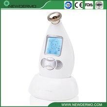 цена на Silver NEWDERMO Diamond Crystal Microdermabrasion Machine Skin Dermabrasion Care Facial Massage Spa FREE SHIPPING