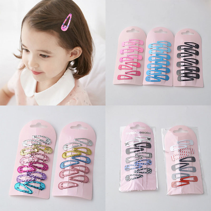 10pcs/Lot New Lovely Mini Baby BB Clips Metal Candy Color Girls Hairpins Hair Clip Kids Headwear Children Hair Accessories