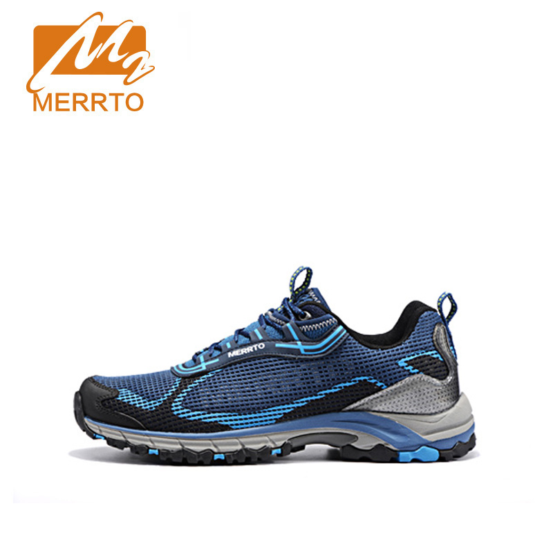 ФОТО MERRTO Trainers Brand Walking Shoes Breathable Men Lightweight Net Comfortable Brand Walking Shoes Sneakers#MT18595