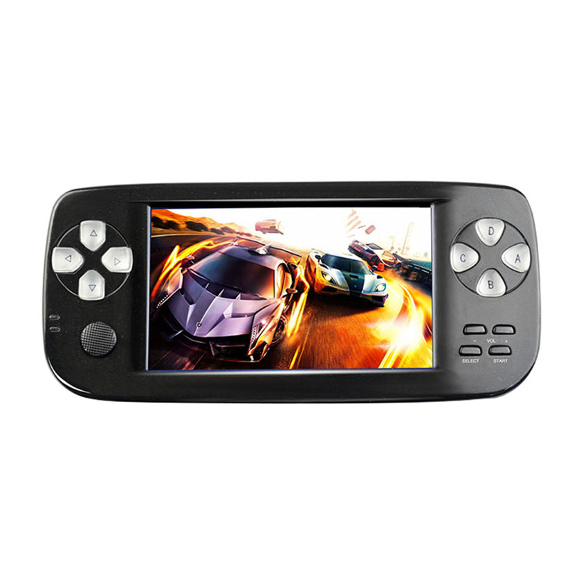 4.3 inch PAP KIII Retro Mini Game Console Built-in 500+ Retro Classic Games 64 Bit Portable Handheld Game Players
