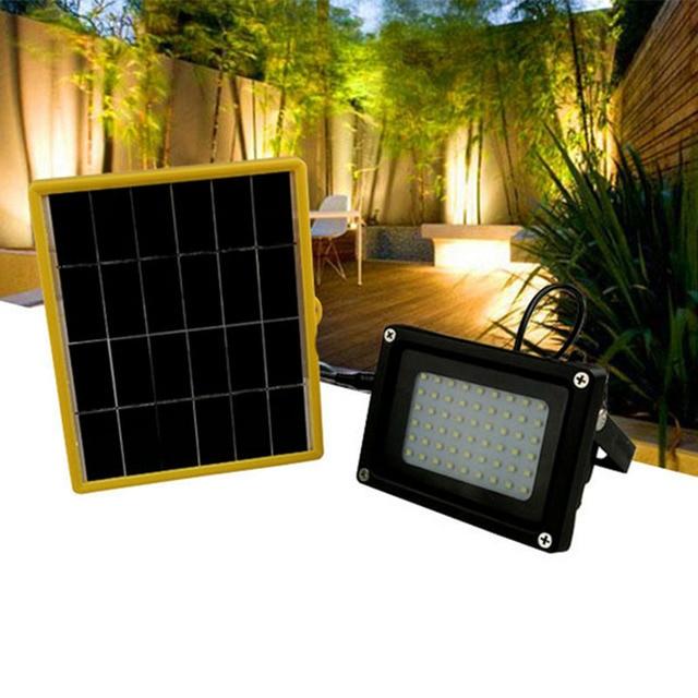 € 31.62 47% de réduction|TAMPROAD Solaire Kit Accueil Intérieur Extérieur  Portable Système D\'éclairage À Énergie Solaire Étanche 54 SMD ...