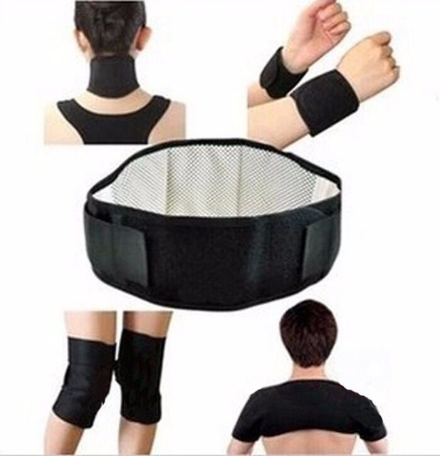 7-In-1 Tourmaline Belt Self Heating Massage Belt Magnetic Shoulder neck waist knee wrist  For Relieve Pain & Keeping Warm